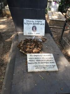 有名コメディアンの墓
