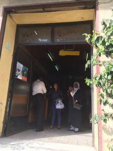 コモカコーヒー店入り口