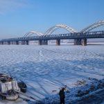 11月18日 午前 ハルピン市内の歴史的建造物  松花江鉄橋 スターリン公園等